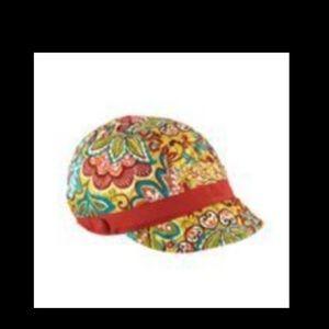 Vera Bradley Newsboy hat in Provençal print